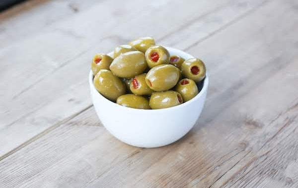 Pimiento Stuffed Cocktail Olives